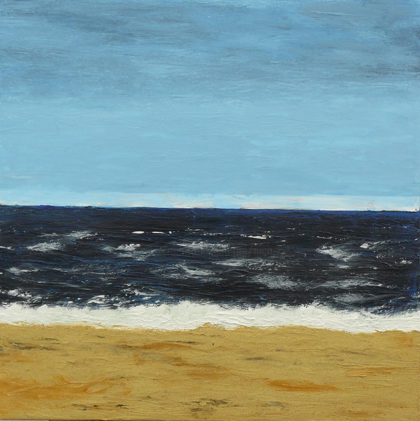 Pich - Face à l'Atlantique quand la mer est bleue