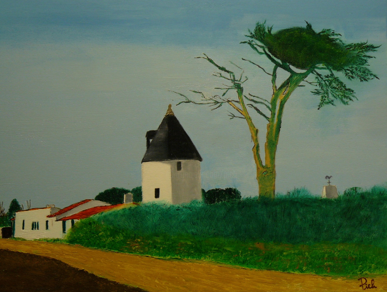 Pich - Ars en Ré, le moulin de la Boire