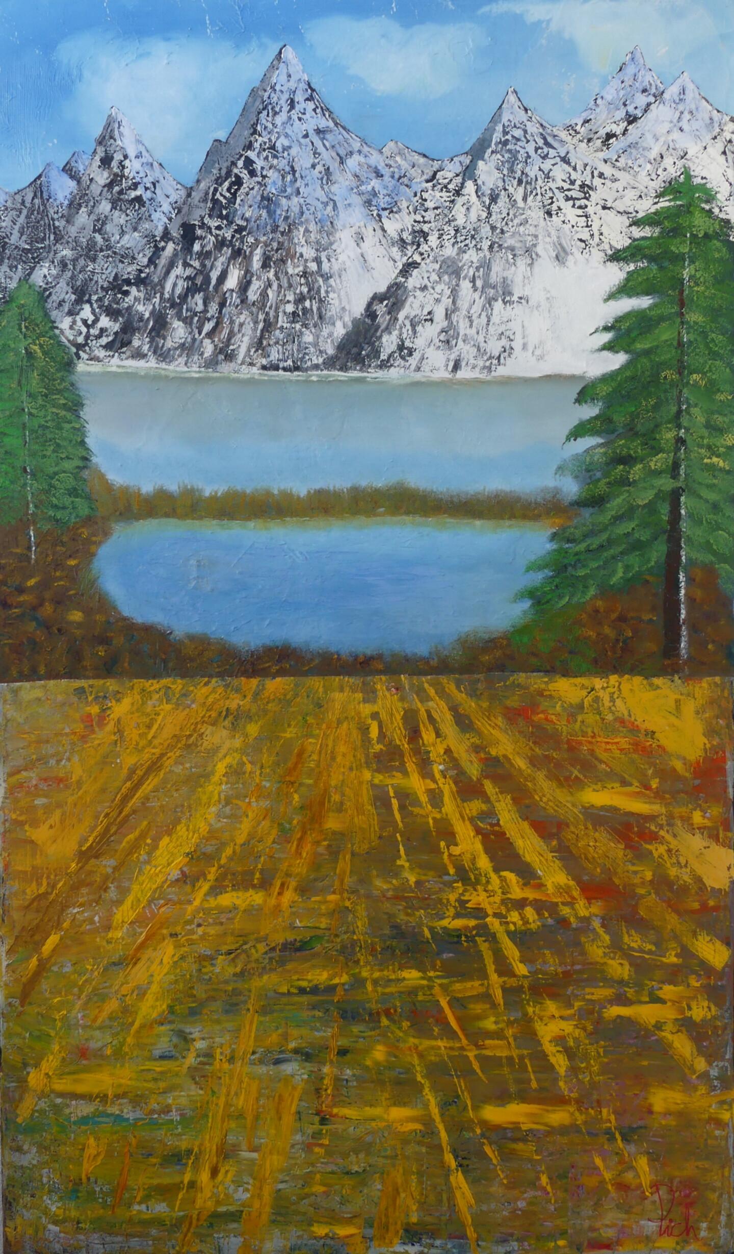 Pich - The blue mountain - La montagne bleue
