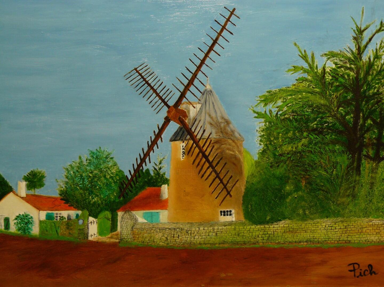Pich - Le moulin de Bellerre au Morinand
