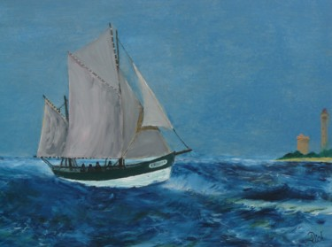 Sardinier croisant le phare des baleines
